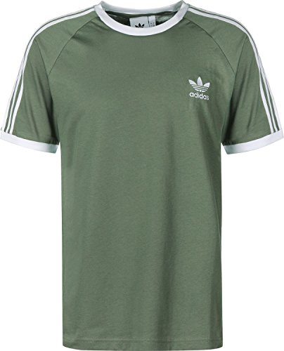 adidas Mens DV2553_L T-Shirt, Green, L
