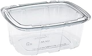 Placon Crystal Seal RPET Tamper-Evident Utility Food Container Clear, 48 oz. | 140/Case