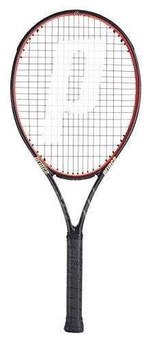 Prince Beast O3 104 Turnierschläger Tennisschläger, schwarz/rot, Grip Size: 1