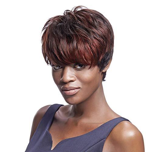 Droit Remy Ombre Perruque Cheveux Humains Blonds BréSilienne Court Bob Perruques Pour Les Femmes Noires Dyp1B-33B-33A