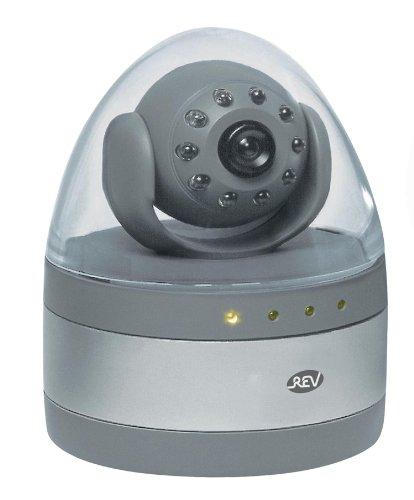 2X REV Kameraattrappe Dummy mit LED batteriebetrieben