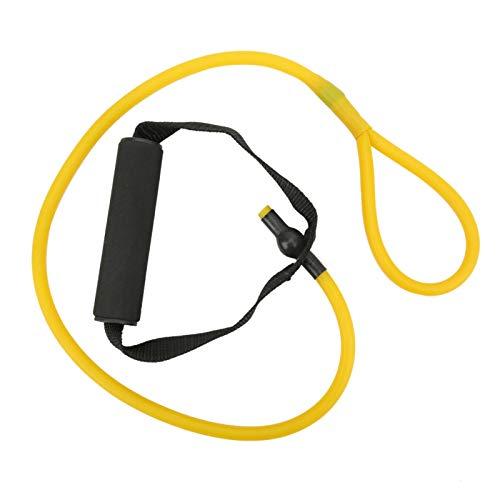 腕の筋力トレーニングバンド、レジスタンスバンドレジスタンストレーニングロープ、ホームワークアウト筋力トレーニング用(Yellow resistance training)