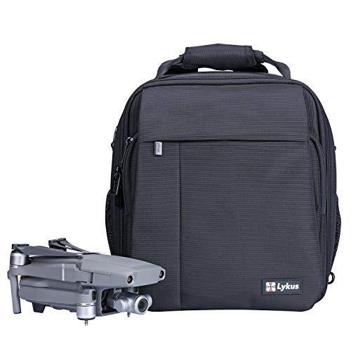 Lykus M1 Water Resistant Travel Backpack for DJI Mavic 2 Pro/Zoom, Mavic Air 2, Mavic Mini, 4-in-1 Backpack/Case/Shoulder Bag/Cross Body Bag