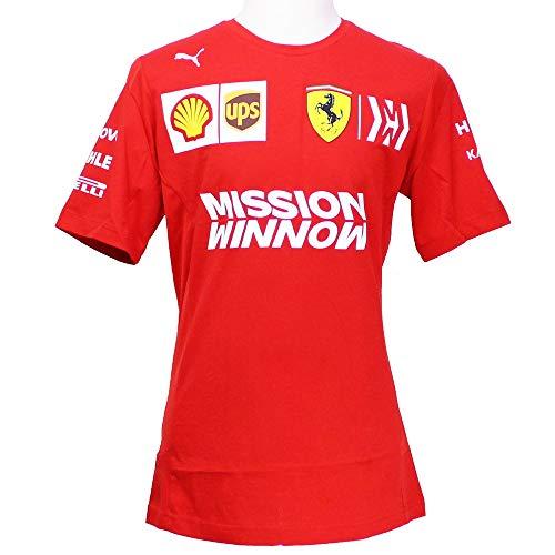 Puma Ferrari Team Herren T-Shirt Rosso Corsa L