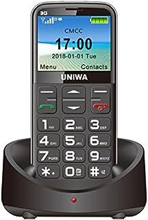 Big Buttons Seniors Mobile Phone 3g Unlocked Black