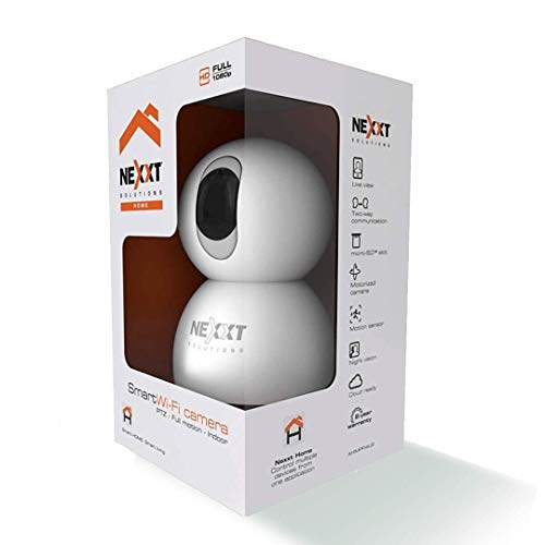 NEXXT WiFi Camera. Wireless Camera for Home. Indoor Camera Easy to Install, Ready to Improve Your Home Security and Equipped with Night Vision. IP Camera with Two-Way Audio and Motion Sensor
