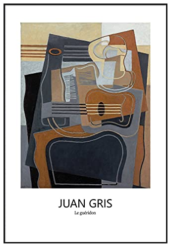 Panorama Cuadro Enmarcado Juan Gris Pedestal 70x100 cm - Impreso en Papel...