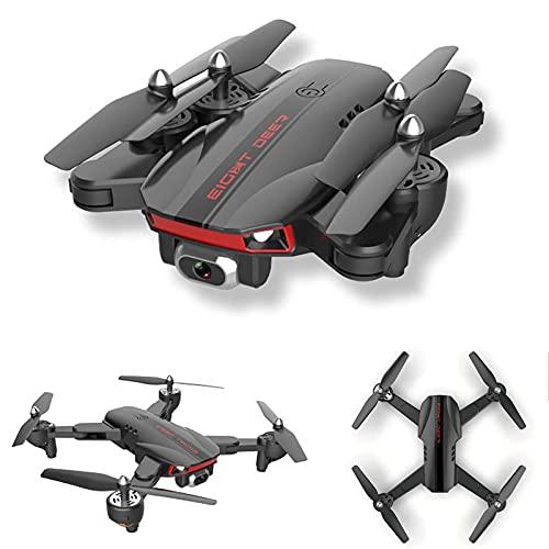 FMHCTN Drone con Fotocamera 4K per Adulti, Drone Professionale RC con Giunto cardanico a 3 Assi GPS 5G WiFi FPV Quadcopter Professionale 50X Motore brushless RC per Principianti con 30 Minuti di Volo