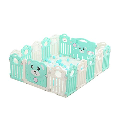 Find Bargain Weilan NBgy Portable Baby Fence, Baby Play Fence, Children's Multi-Board Activity Cente...