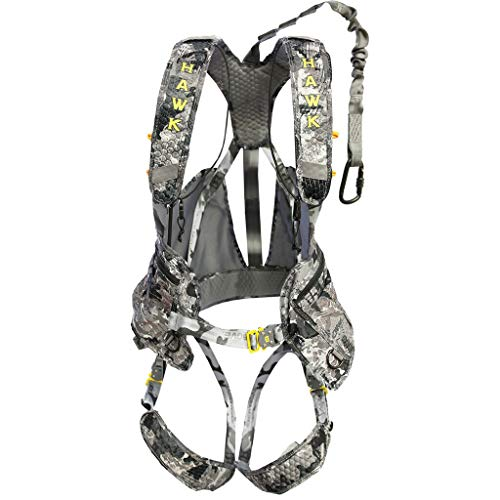 Hawk Elevate Pro Harness, Black, One Size