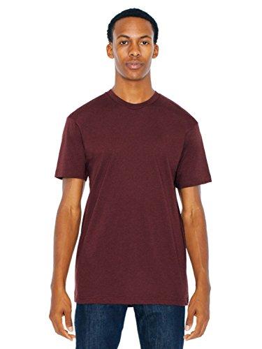 American Apparel Men 50/50 Crewneck T-Shirt Size M Truffle