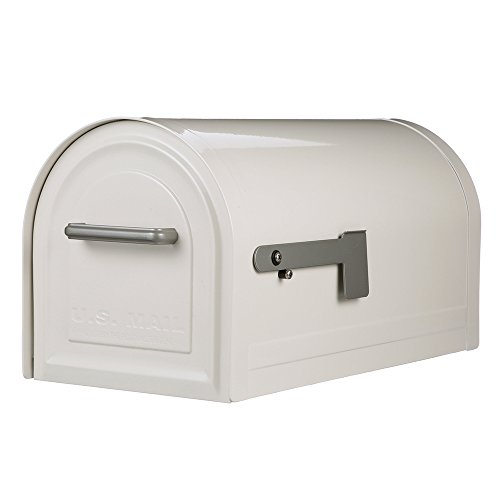 Gibraltar Mailboxes MB981W01 Reliant Locking Mailbox, Large, White
