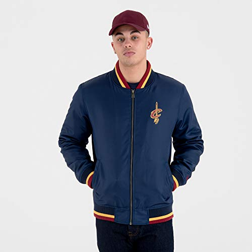 New Era Herren Jacken/College Jacke NBA Team Cleveland Cavaliers blau 2XL