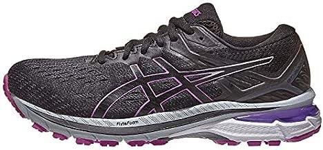 ASICS Women's GT-2000 9 G-TX Running Shoes, 8, Black/Digital Grape
