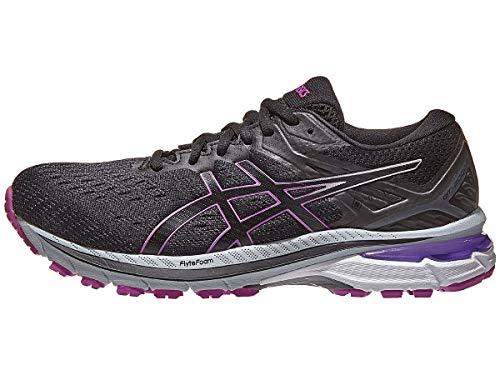 ASICS Women's GT-2000 9 G-TX Running Shoes, 7M, Black/Digital Grape