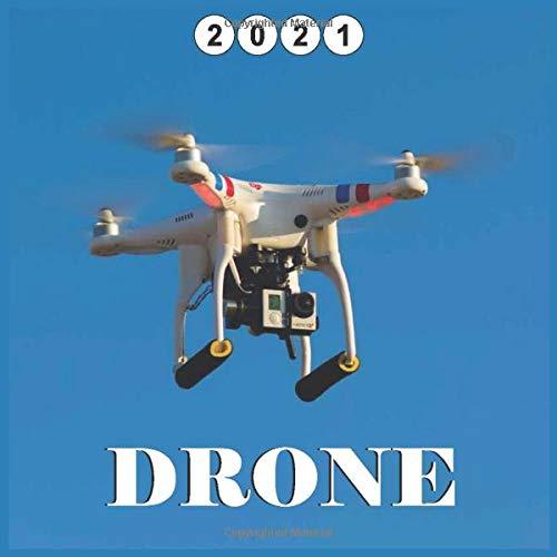 Drone 2021 Calendar: Wall and Disk Calendar, 16 Months calendar 2021