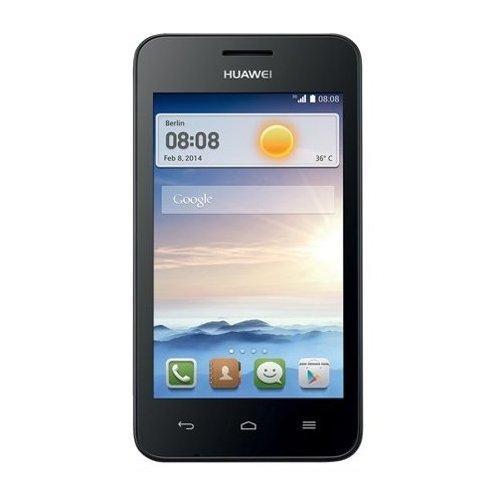 Huawei Ascend Y330 Smartphone (10,1 cm (4 Zoll) TFT-Touchscreen, 3 Megapixel Kamera, 4 GB Interner Speicher, Android 4.2) matt-schwarz