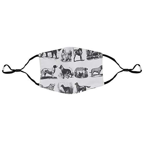 Dkisee Unisex-Gesichtsmaske Einhorn Anti-Staub-Maske verstellbare Ohrschlaufe Gesichtsmaske Outdoor Schutzmaske, Farbe 9, 20x15cm