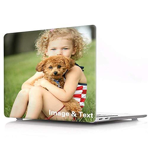 AIPNIS Personalizzare MacBook PRO 13 Pollici Case Compatibile con 2016-2020 Release A2338 M1 A2289 A2251 A1989, Regalo Fotografico Personalizzato Guscio Duro in Cristallo Trasparente