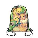 Drawstring Backpack Dancing Bag Athletic Sackpack Popular Game Trendy Gymsack For Men Women