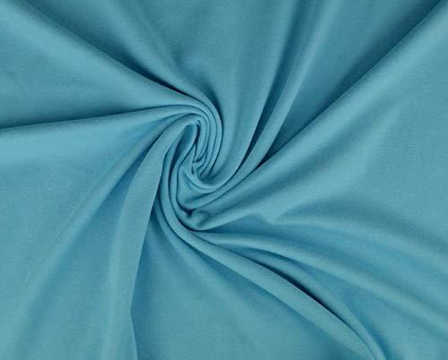 Jersey di cotone, morbido jersey elasticizzato di ottima qualità, 100 x 150 cm, in jersey di cotone al metro, tessuto jersey di cotone, jersey.