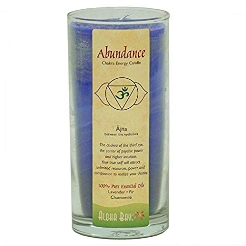 Aloha Bay Chakra Candle Jar, 11 OZ, Abundance, 11 Ounce