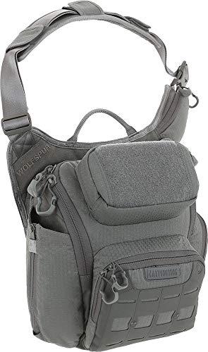 Maxpedition Wolfspur™ V2.0 Sac à bandoulière 11 l Taille unique gris