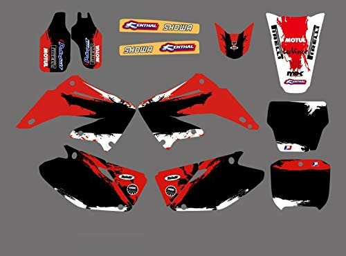 Shipping included KINWAT Graphics Backgrounds Decals Stickers CR1 Kits Honda Max 71% OFF for