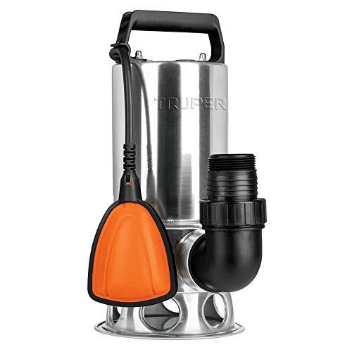 Truper BOS-1SM, Bomba sumergible metálica para agua sucia 1 HP