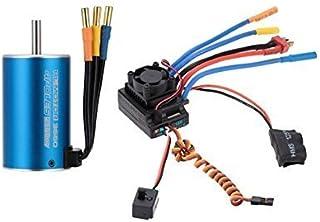 FastWin 3660 2600KV 4P Sensorless Brushless Motor & 80A Brushless Splash-Proof Electronic Speed Controller ESC with 5.3V/5...