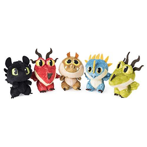 Dragons 6045084 - Movie Line - Dragon - Egg - Plüschfiguren, Plüschfigur im Ei, Drachenzähmen leicht gemacht 3, Die geheime Welt