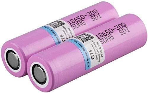 3000Mah 3.7V para Samsung Inr 18650 Inr 30Q 20A Paquete De Batería De Litio Recargable para E-Ciguart Flashligh-6Pcs-1 Pc-1_Pc