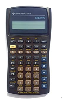 TEXBAIIPLUS - Texas Instruments BA-II Plus Adv Financial Calculator