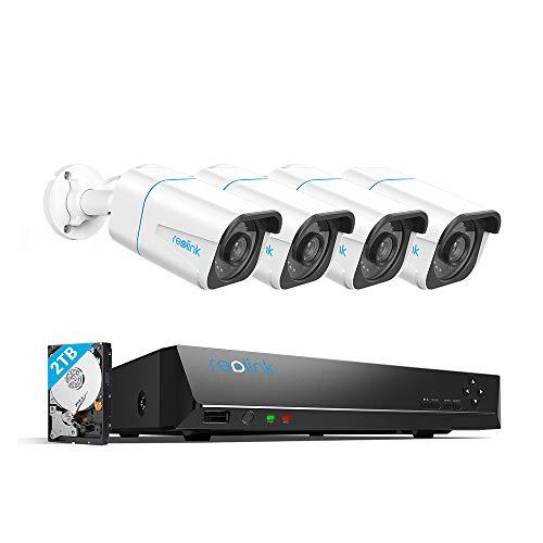 Reolink 4K Security Camera System H.265,...