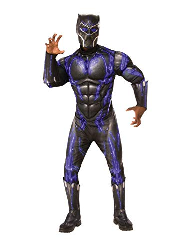 Rubie's, Costume Ufficiale Avengers Black Panther Battlesuit, da Uomo