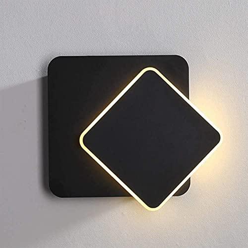 LLDE Moderne eenvoud LED wandlamp ruimte wandlamp draaibare wandspot van acryl LED wandverlichting decoratief licht…