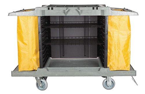 Hotel Cart Housekeeping Room Service Cart H 39' x W 58' X D 21'