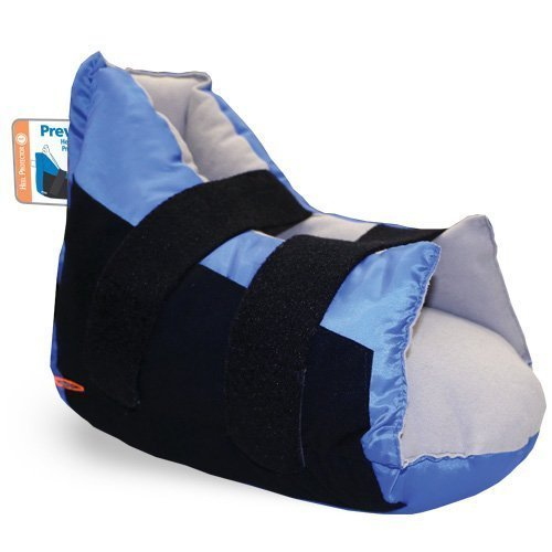Prevalon Heel Protector I for Heel Pressure Relief - Cushioned Boot for Elevated Heel Support - Designed for Bed Bound Individuals - Qty 1