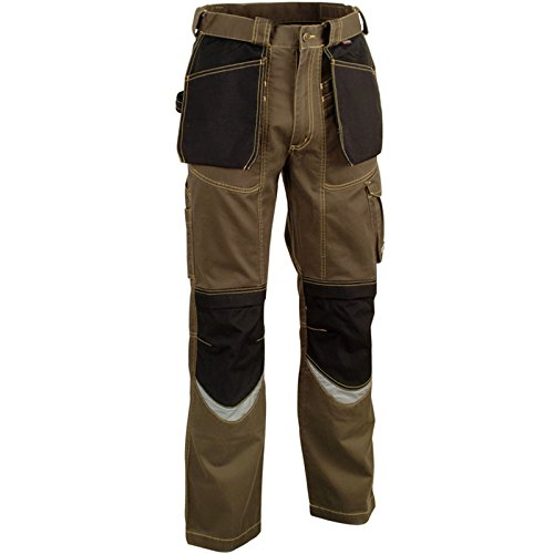 Cofra V064-0-00.Z52 Carpenter Pantaloni, 52 Taglia, Nero/Nero