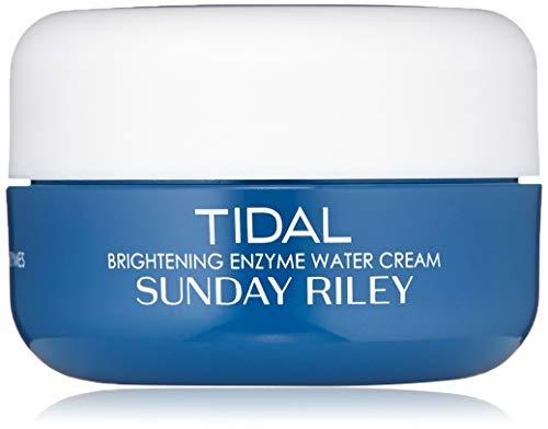 Sunday Riley mareas Brightening enzima agua crema Deluxe tamaño de viaje 15 G