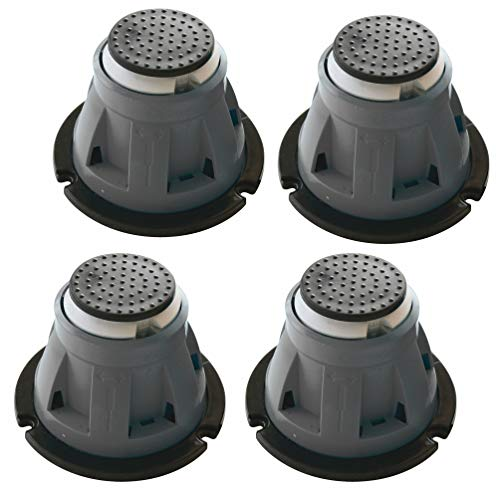 SOMATHERM FOR YOU 4831 Pieds de Receveur réglables-85-135mm-450Kg, Gris