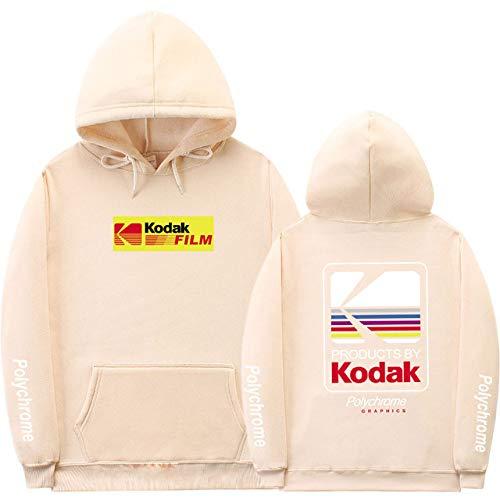HNOSD Neue 2019 Hoodie Sweatshirt Männer Frauen Mode Herbst Winter Streetwear Hoodies Hip Hop Kodak Hoodies Männer Khaki XMS098 L