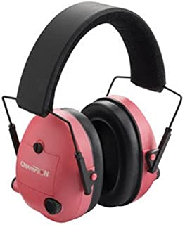 Ear Muffs, Electronic, Noise Reduction, NRR 25dB, Pink