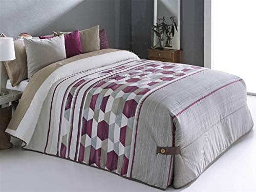 Reig Marti - Edredón conforter Toler 02 Cama 150 - Color Beig C01