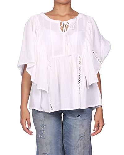 KAPORAL NYNFE Camicia, Écru (Milk), XL Donna