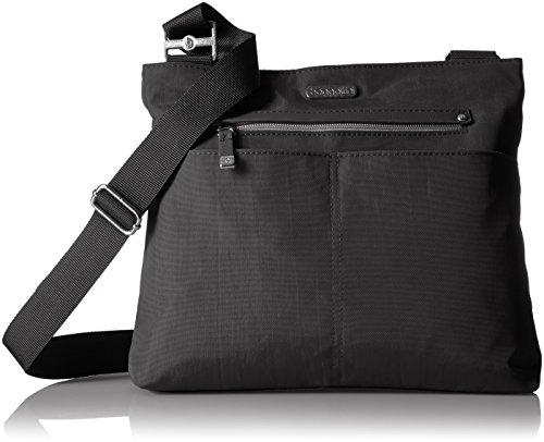 Baggallini womens All Around Large Crossbody Cross Body Handbag, Black With Sand Lining, One Size US