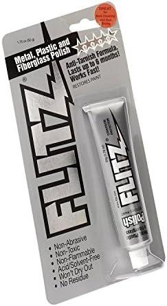 Flitz Polierpaste Metallpolitur Universalreiniger Metallpflege Glasfaser Verschiedene Größen 50g 1 76oz Küche Haushalt