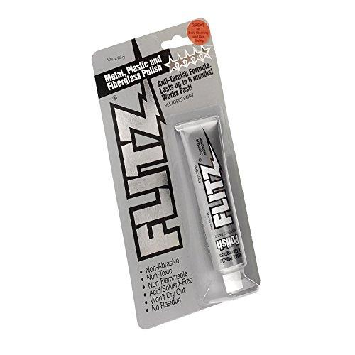 Flitz Polierpaste Metallpolitur Universalreiniger Metallpflege Glasfaser Verschiedene Größen (50g / 1.76OZ)