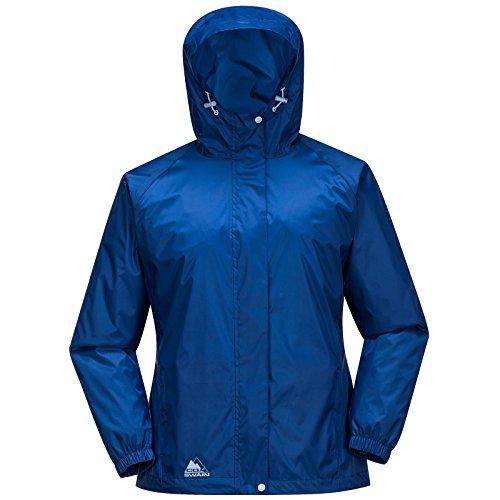 Cox Swain Damen Regenjacke Male - mit Kapuze, super leicht!, Colour: Mazarine Blue, Size: M
