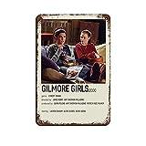 Gilmore Girl 90er Vintage Poster Retro Blechschild Chic Art